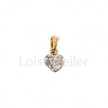 Väike süda teemantripats