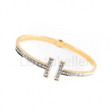 Suur teemantkäevõru kuldne
