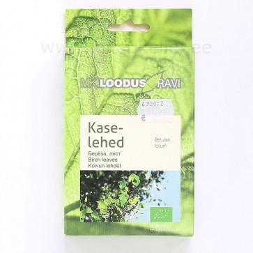 Kaselehed ravimtee Mahetoode / Birch leaves herbal tea