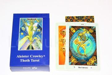 """""""Aleister Crowley Thoth"""" taro (keskmine pakk)"""