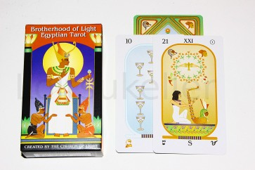 """Brotherhood of Light Egyptian Tarot"""