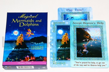 """Magical Mermaids/Dolphins Oracle Cards"" ennustuskaardid"
