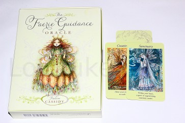 """The Faerie Guidance Oracle"" ennustuskaardid"