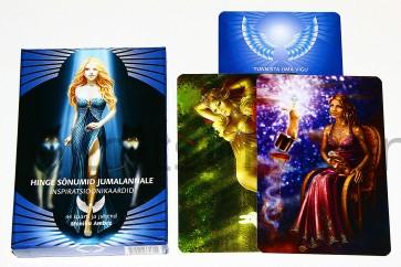 """""""Hinge sõnumid jumalannale"""" afirmatsiooni kaardid"""
