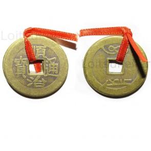 Hiina õnnemündid 3 tk suured