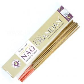 Golden Nag Chandan Masala Sandlipuu lõhnapirrud / Golden Nag Chandan Masala Sandalwood Incense