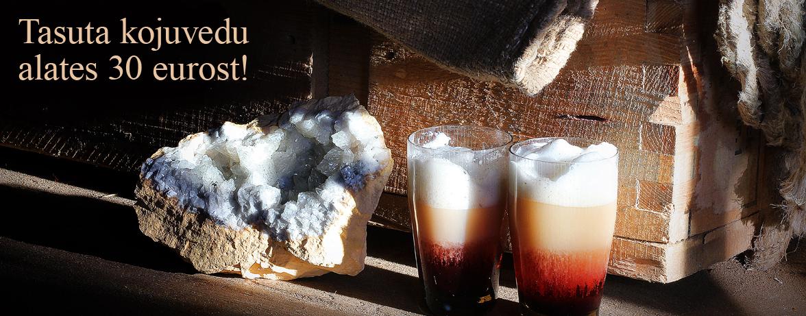 Kaltsiitkoobas kohvidega