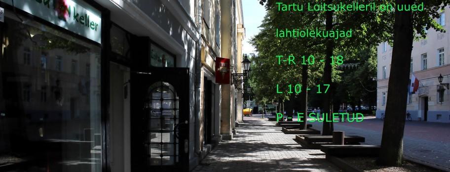 Tartu Loitsukeller Küüni 2   lahtiolekuajad